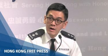 Police Public Relations Branch Senior Superintendent Kong Wing-cheung