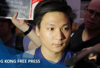 wayne chan arrest charge unlawful assembly