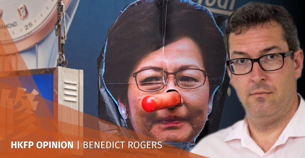 Benedict Rogers Carrie Lam