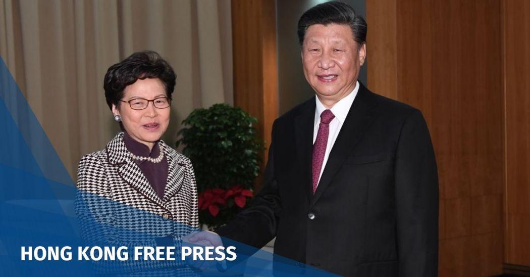 Xi Jinping Carrie Lam
