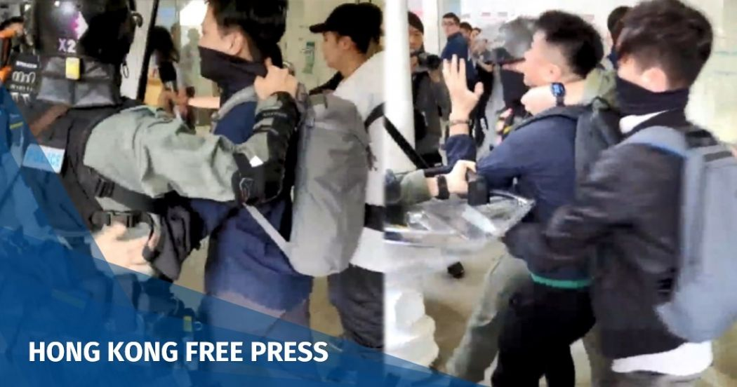 plainclothes police officer Tai Po