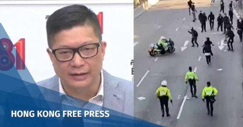 chris tang police motorcycle
