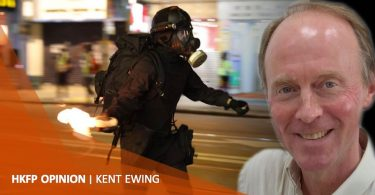 kent ewing protest