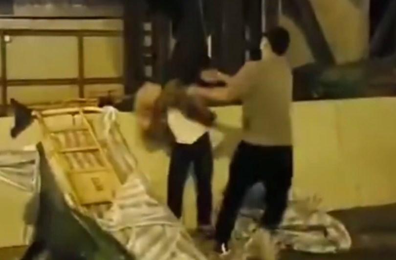 man attack drain cover