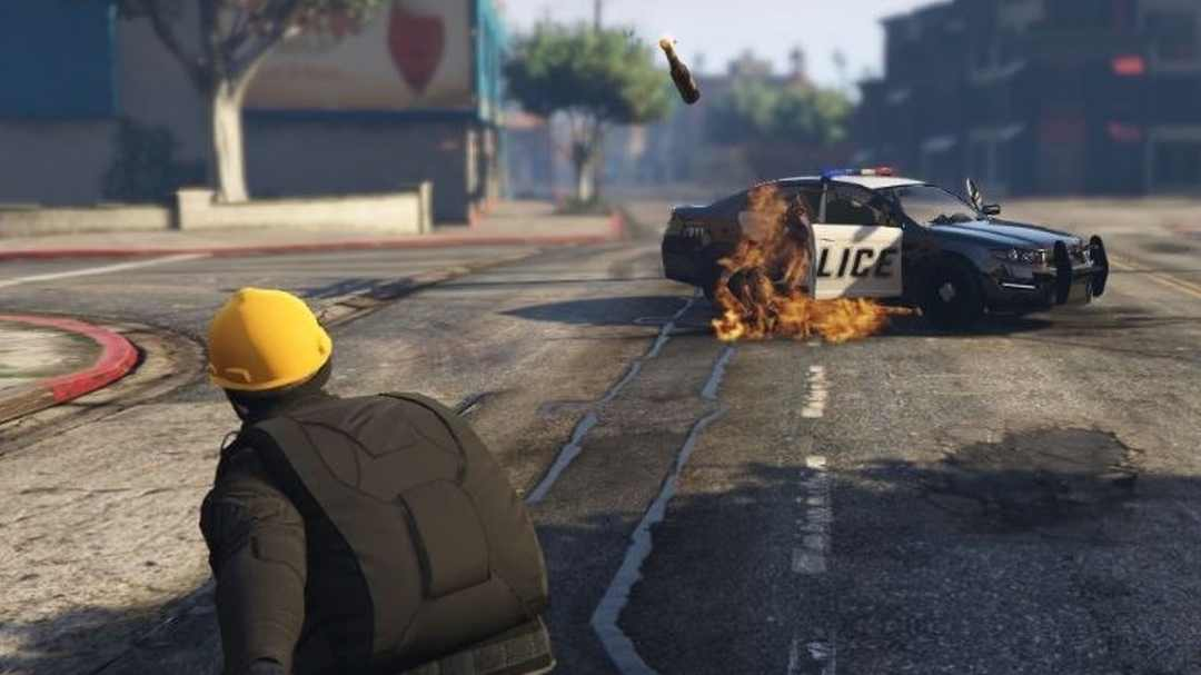 grand theft auto 5 gta protest