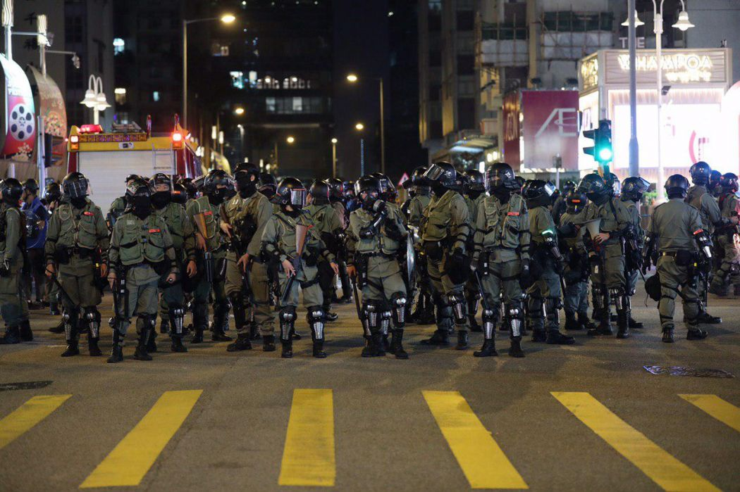 """""""December 1"""" Hong Kong police Kowloon"""