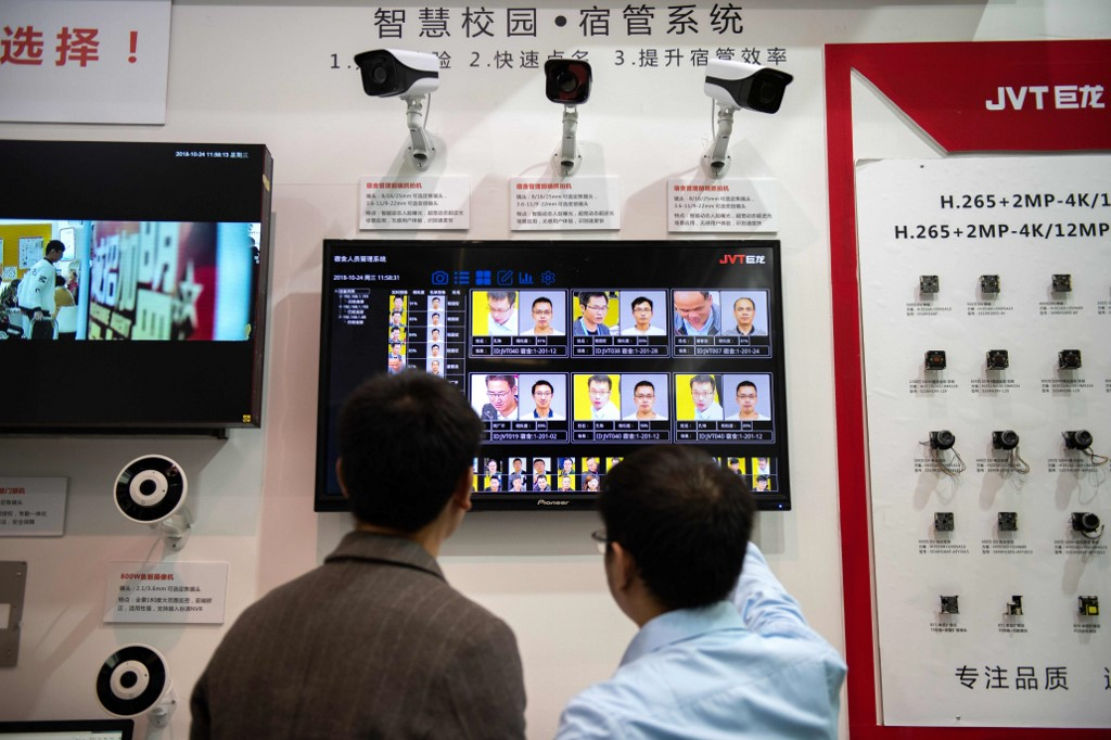 China facial-recognition