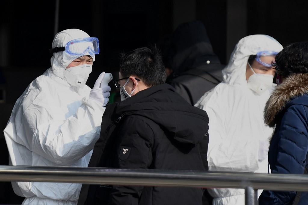 China Wuhan virus Beijing