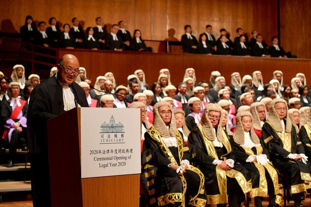 Chief Justice Geoffrey Ma