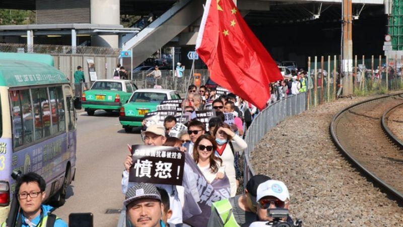 Yuen Long protest Jan 12