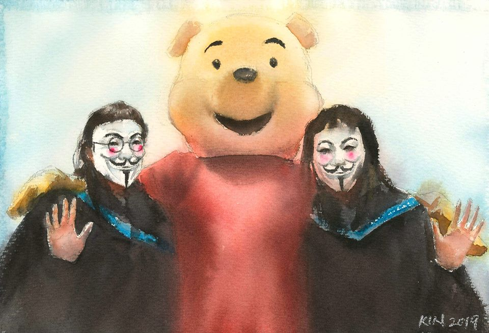 Fung Kin-fan Hong Kong protest