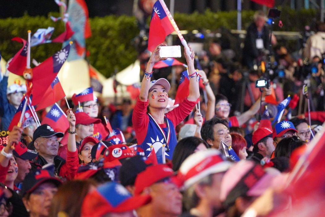 kmt rally January 10 Taipei