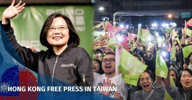 Tsai Ing-wen DPP win election Taiwan