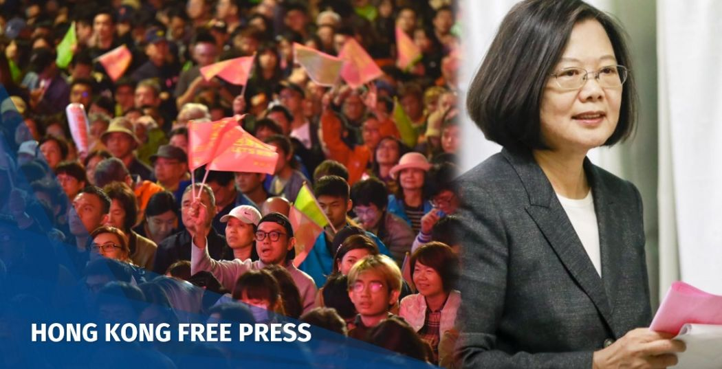 Taiwan election: China slams US for congratulating Tsai Ing-wen on poll win | Hong Kong Free Press HKFP