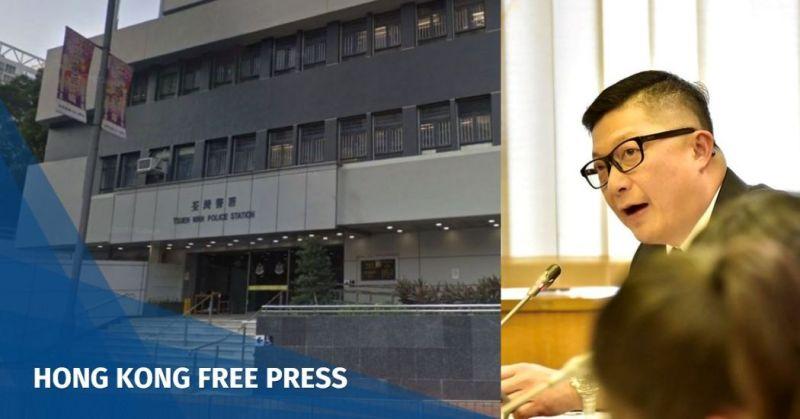 Chris Tang police Tsuen Wan