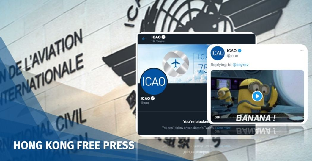 Wuhan coronavirus: UN aviation body blocks users who raise issue of Taiwan's inclusion on Twitter | Hong Kong Free Press HKFP