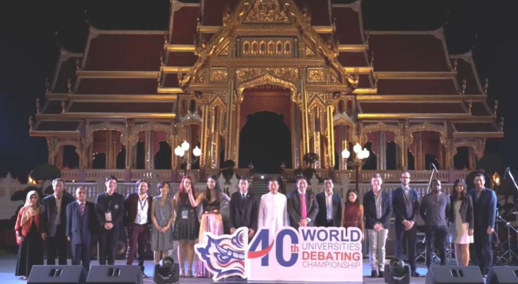 bangkok thailand world universities debating championship wudc