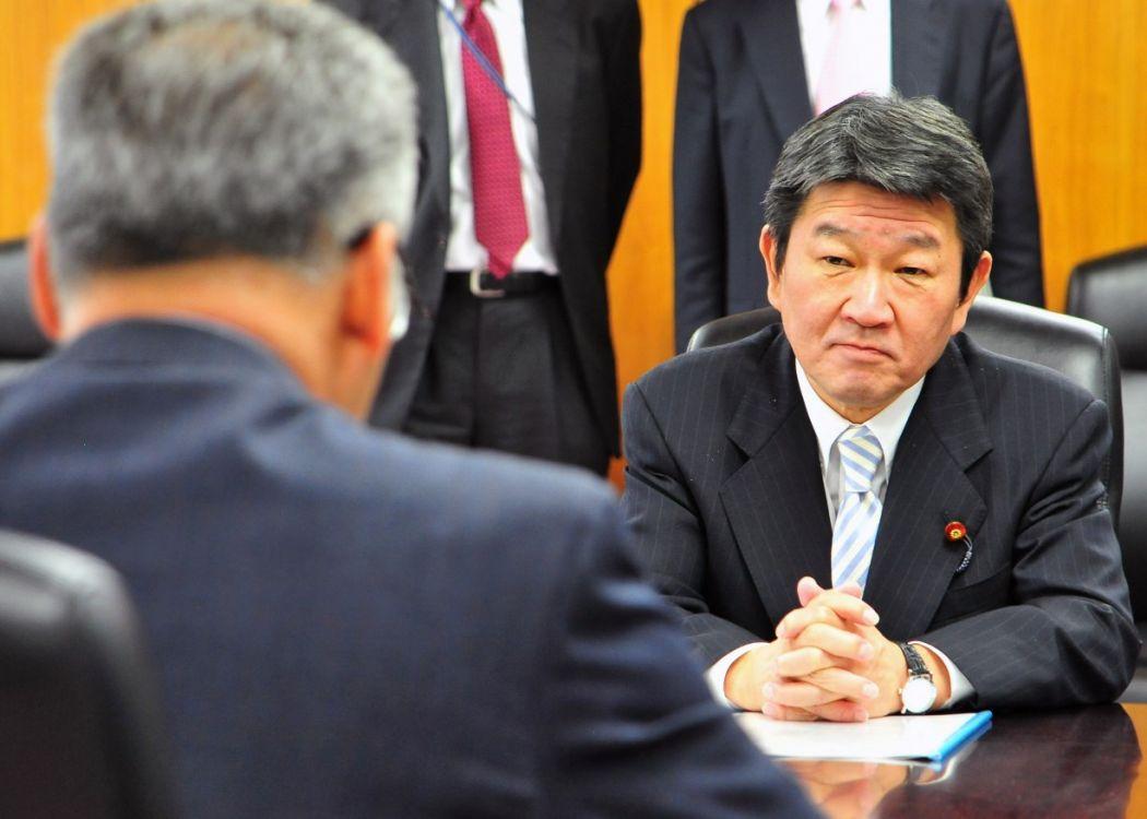 Japan's Foreign Minister Motegi Toshimitsu