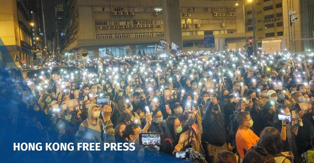 Lai Chi Kok detention reception centre January 23