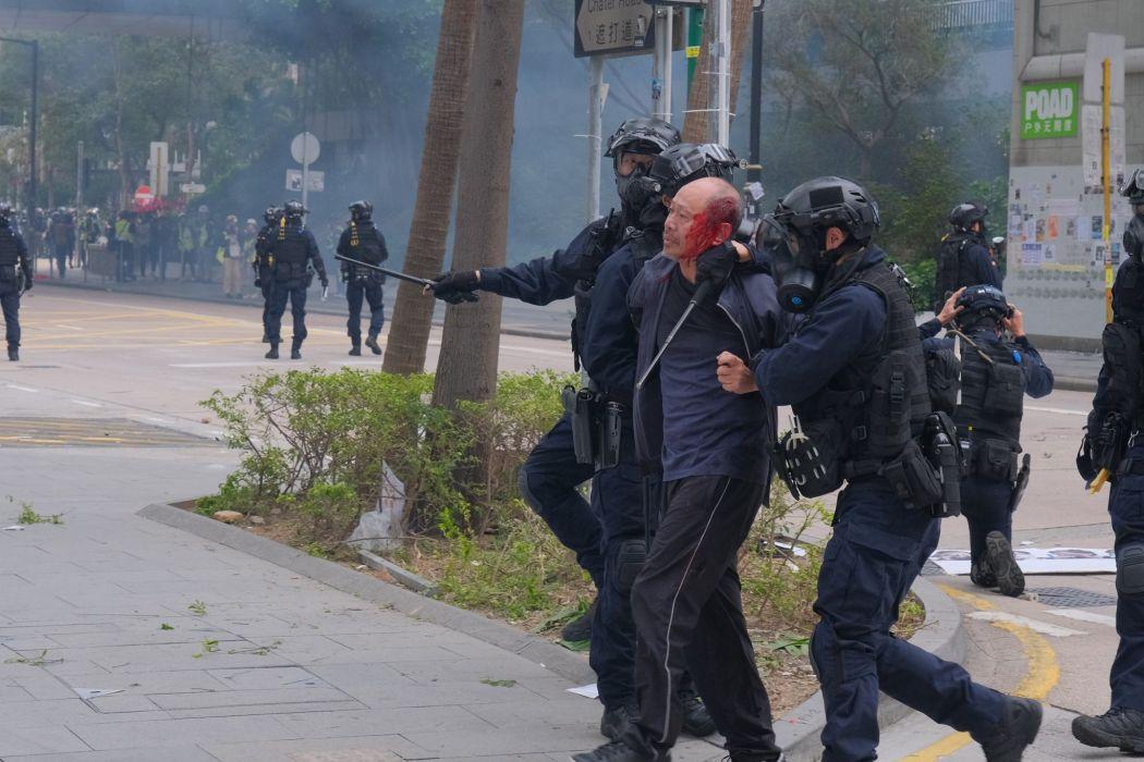 january 19 police bloody arrest