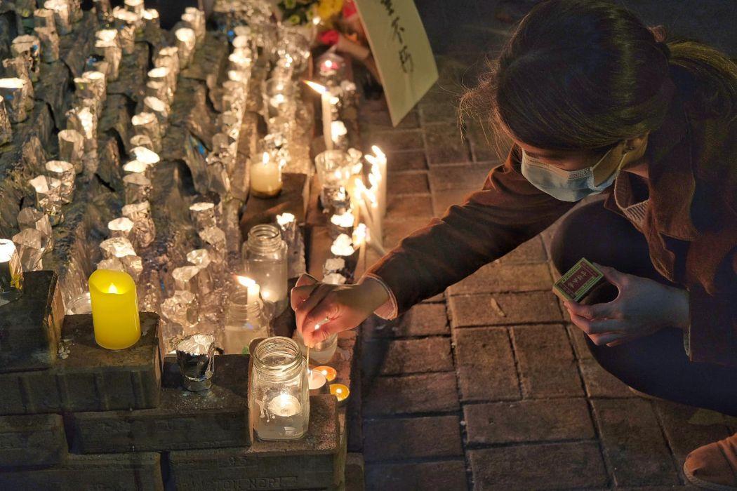 tseung kwan o alex chow vigil protest january 8 (14)