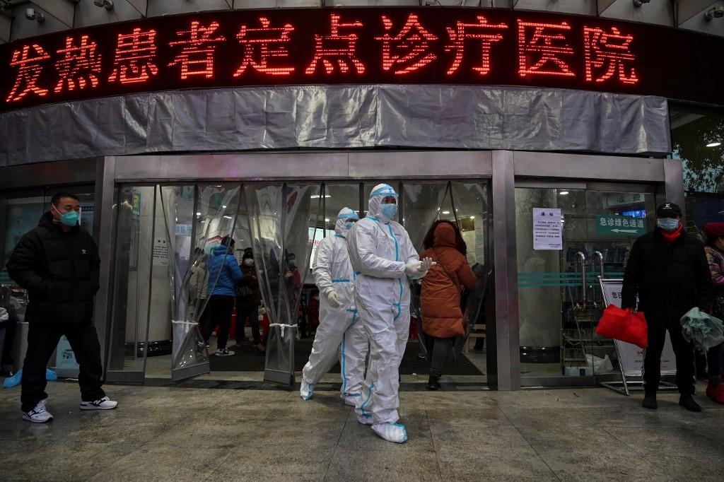 China Wuhan virus