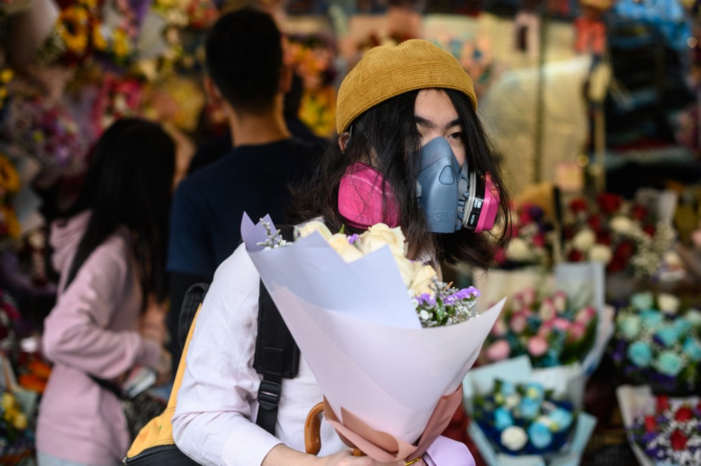 valentine's face mask