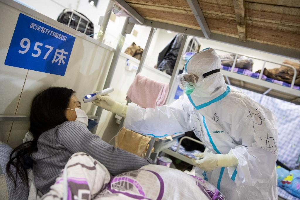 Death toll from coronavirus surpasses 1800 in China