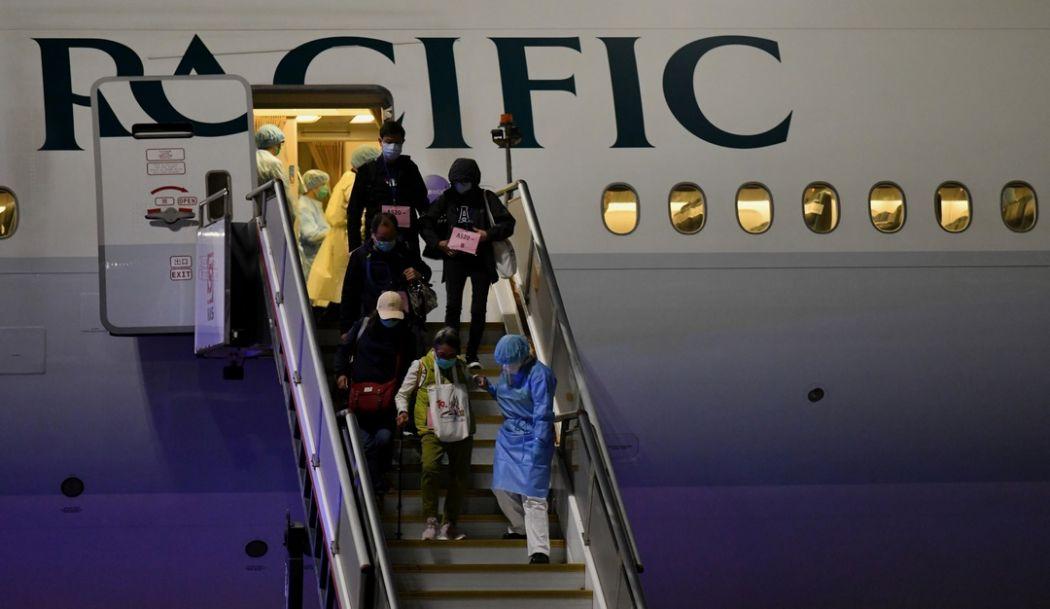 Second chartered flight taking back Hong Kong residents on board Diamond Princess