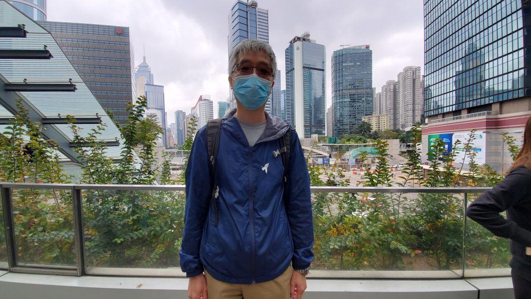 Mr Leung, pathology laboratory technologist