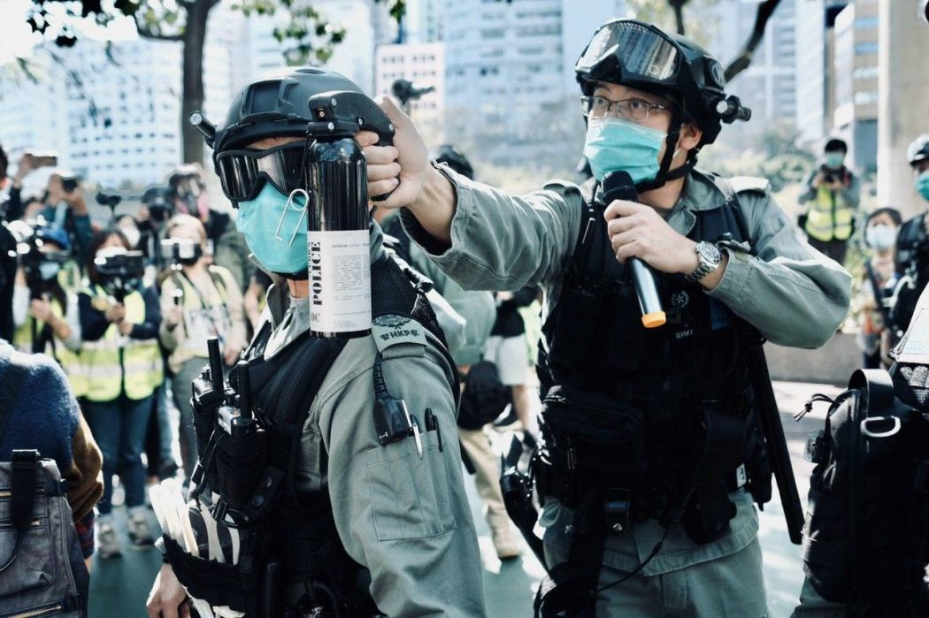 Tuen Mun Park protest