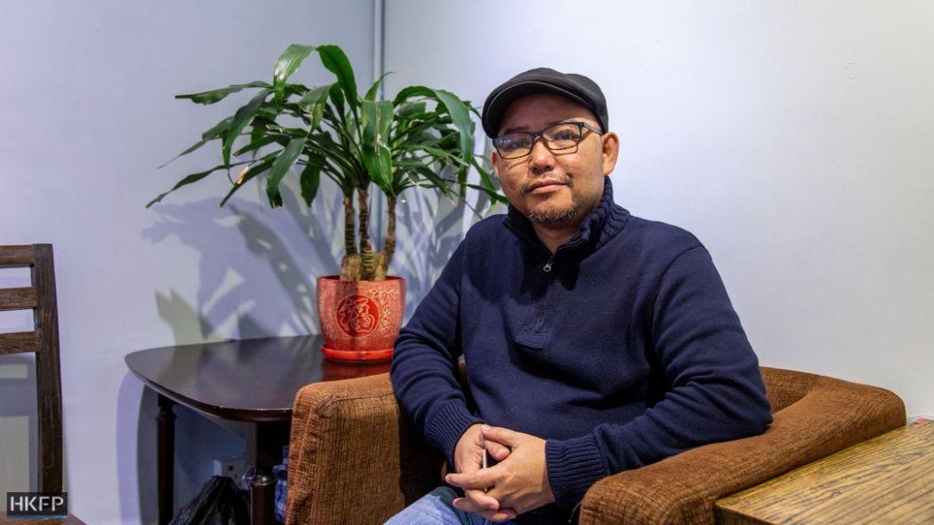 Migrant worker activist Eman Villanueva