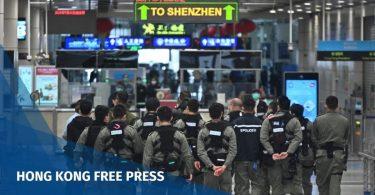 Shenzhen police hong kong virus
