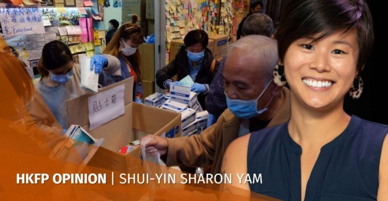 sharon yam hong kong masks