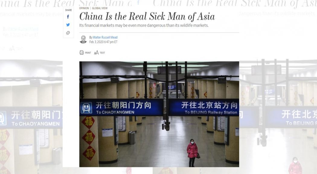 sick man of asia