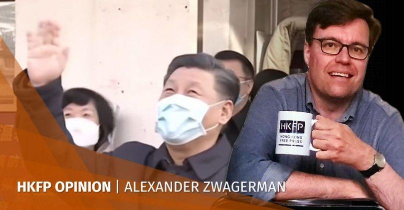 Xi Jinping virus face mask