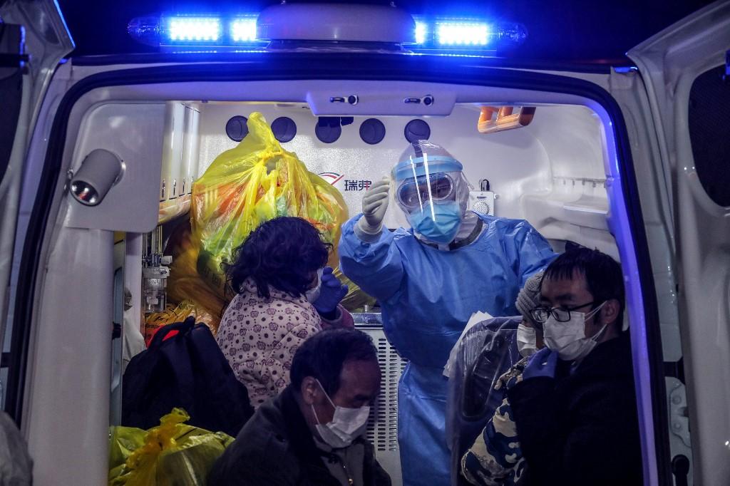 China Hubei Wuhan patient coronavirus virus
