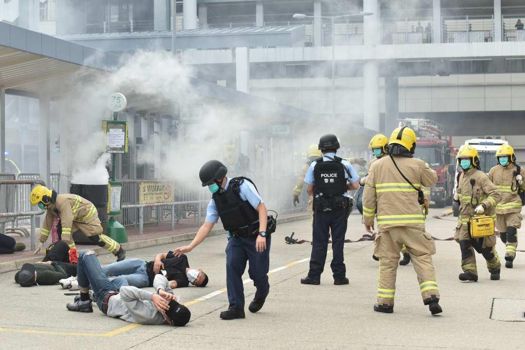 counter terrorism exercise hong kong