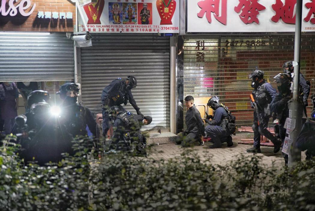 yuen long march 21