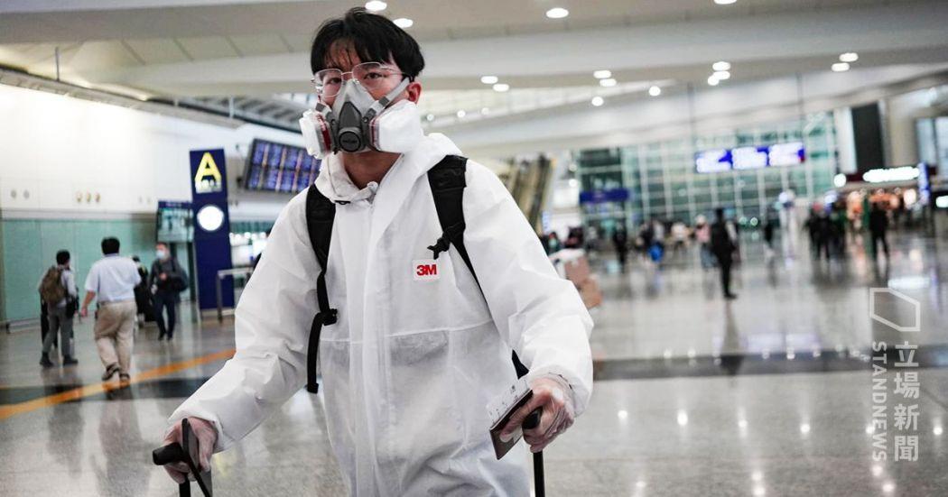 Airport returning inbound traveller coronavirus covid-19