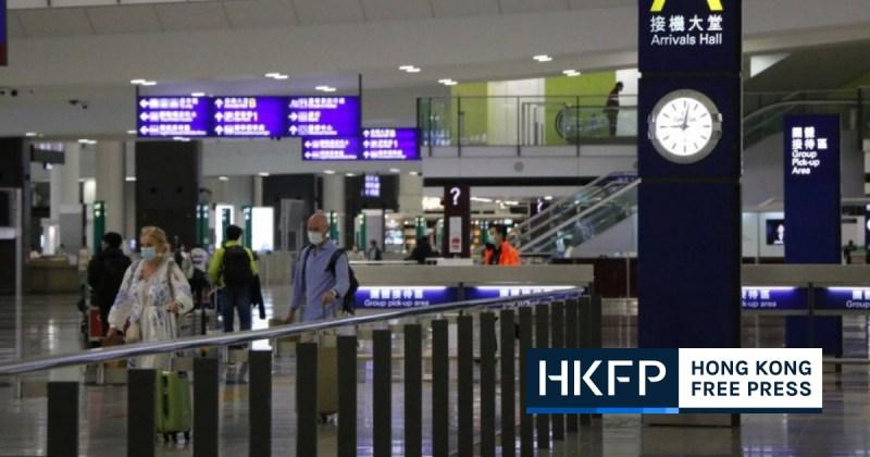 Hong Kong Airport Arrival Hall