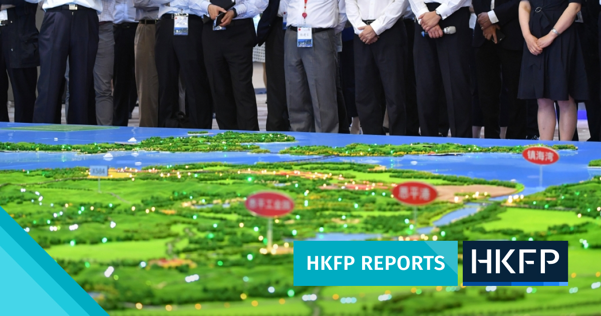 Hong Kong and the Greater Bay Area: a political manifesto masquerading as a business plan?
