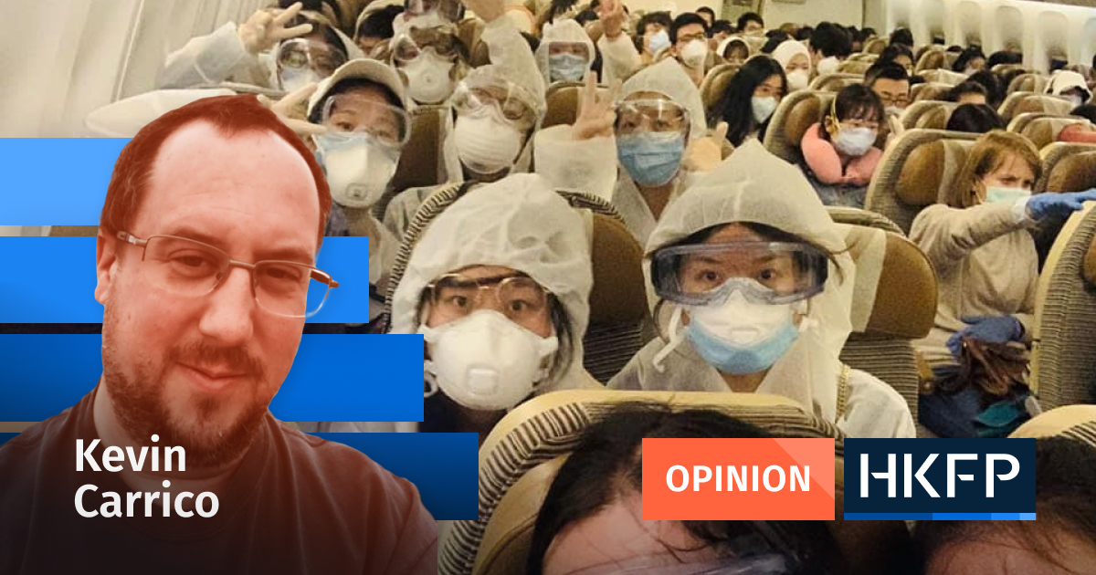 The controversy around Yuen and Lung'sMingpaocoronavirus commentary: suppressing doctors' warnings is never the answer kevin carrico