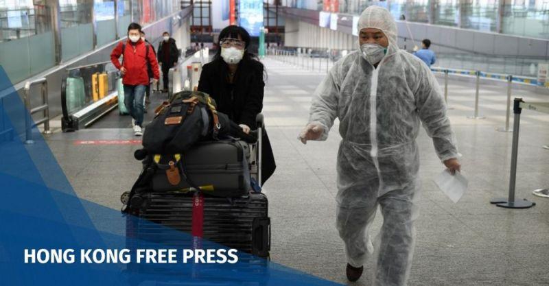 China coronavirus Beijing Capital Airport COVID-19
