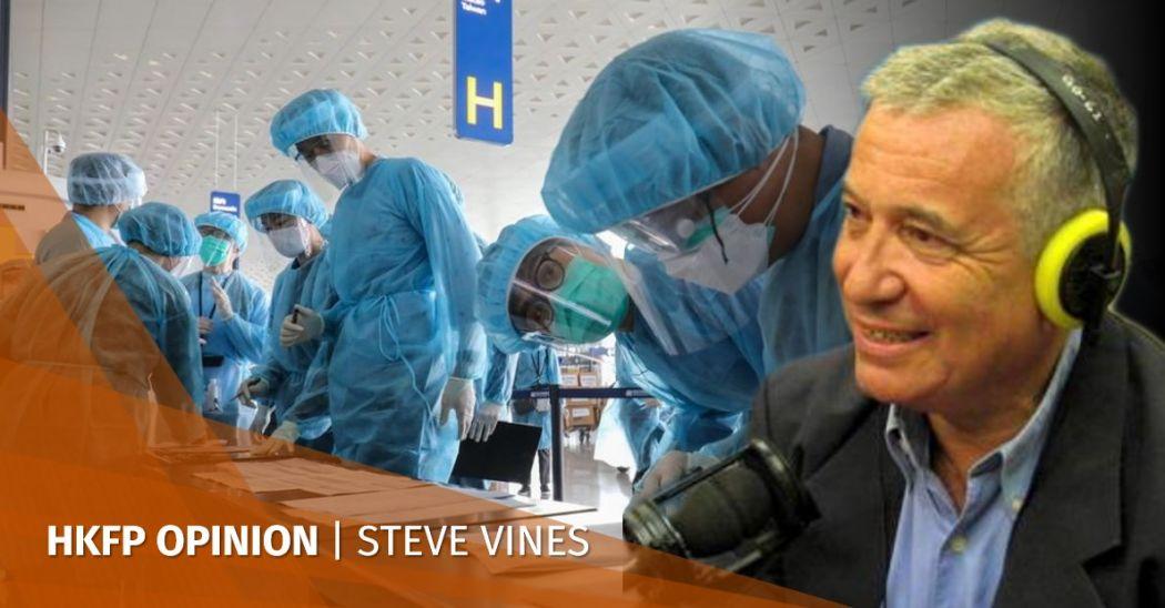 Stephen Vines coronavirus China covid-19