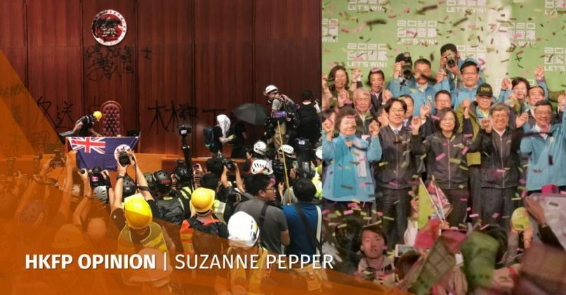 Reverberations: From Hong Kong, to Taiwan, and the fading dream of China's reunification suzanne pepper