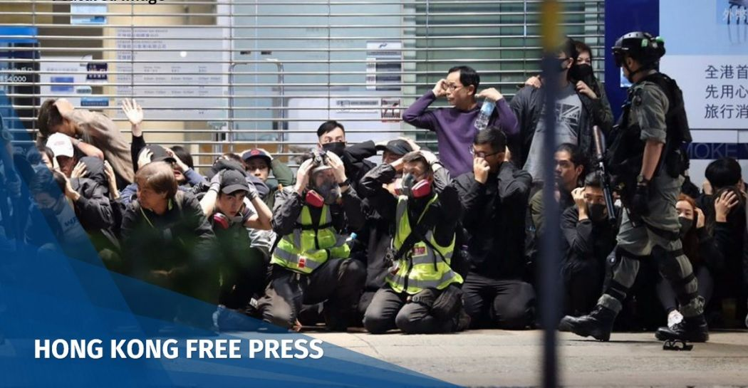 police brutality arrest protest US human rights report