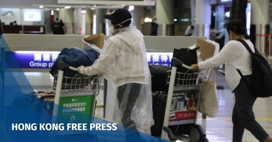 airport overseas hongkonger return home
