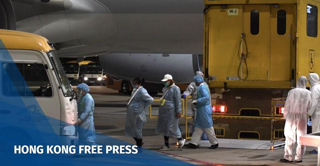 wuhan stranded hongkoners return on chartered flight