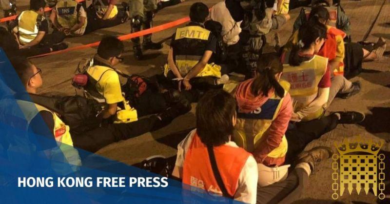 appg hong kong police medics against human rights